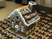 Gingerbread House Christmas 2016